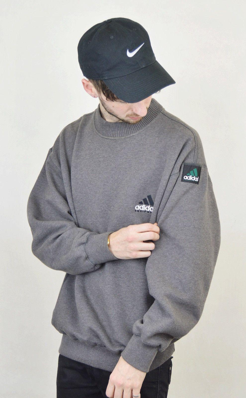 90s Vintage Adidas Equipment Sweatshirt M