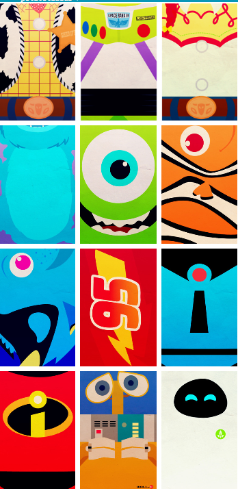 toy storymonsters incfinding nemocarsthe incredibles