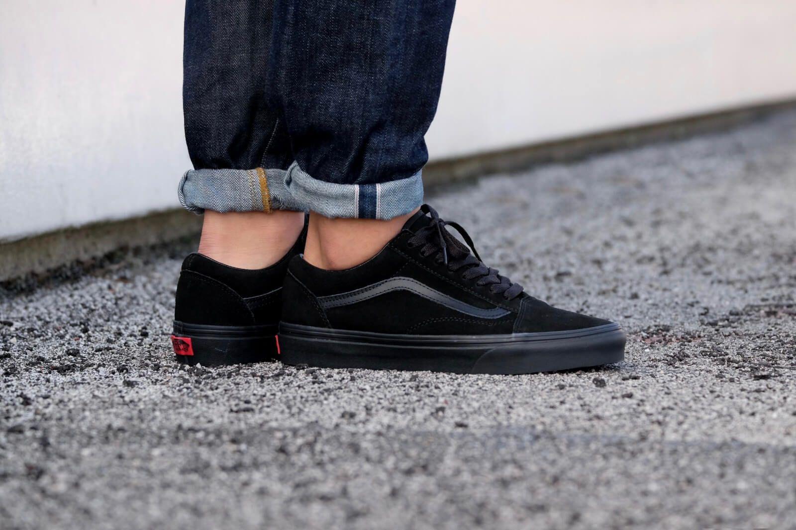 7ed8991d515 Vans Old Skool Suede Black VN0A38G1NRI Vans For Sale  Vans. Find this Pin  and more on sneaker ...