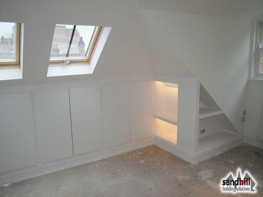 Loft Conversion Bedroom With Ensuite Putney London Sw15