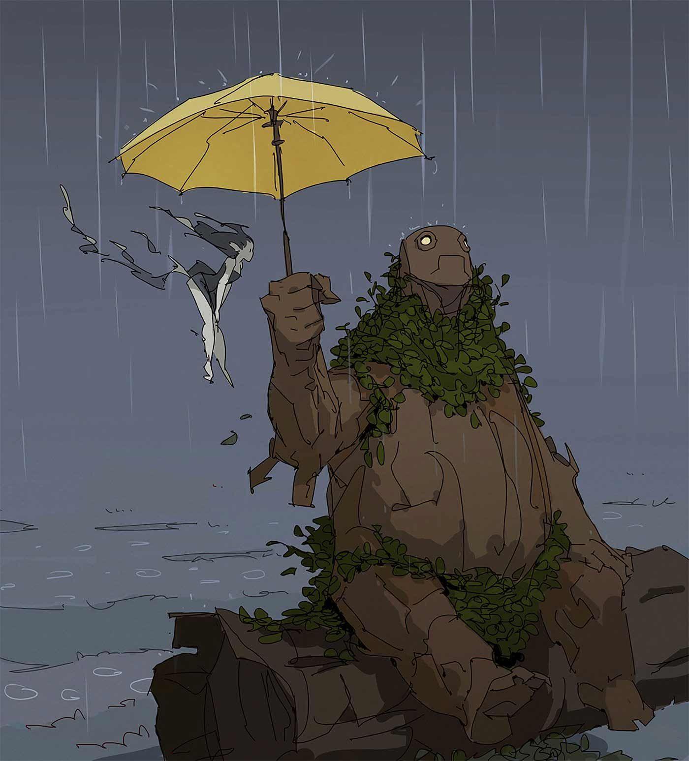 Photo of Illustration: Varguy – Eine Prise Studio Ghibli