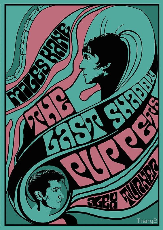 1960s Themed The Last Shadow Puppets Poster Shadow Puppets The Last Shadow Puppets Band Posters