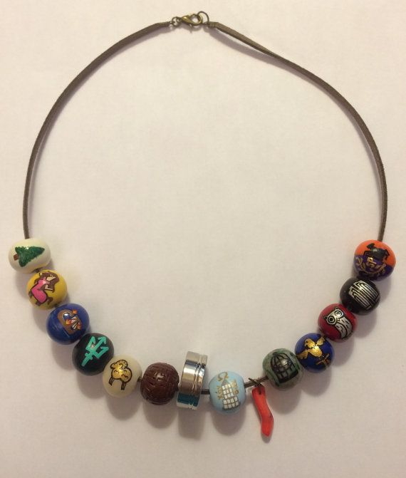 Percy and Annabeths Camp Beaded Necklace