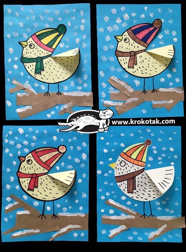 Photo of Wintervogel –  Wintervogel  – #craftstodowhenbored #holidaycrafts #wintercrafts …