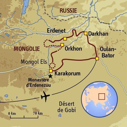 Steppes et yourtes mongoles #mongolie #trekking #sport #aventure
