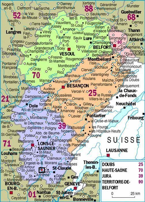 La Region De Franche Comte Franche Comte Bourgogne Franche Comte Guebwiller