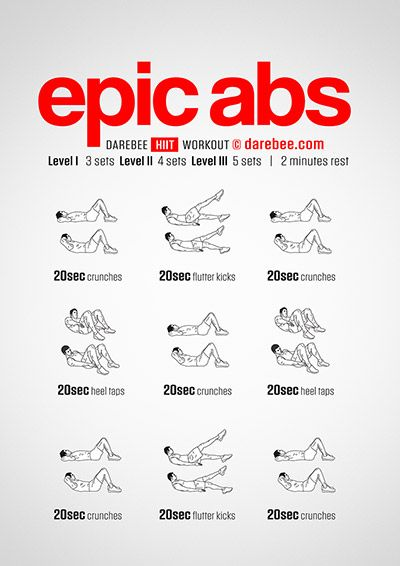 Epic Abs Workout