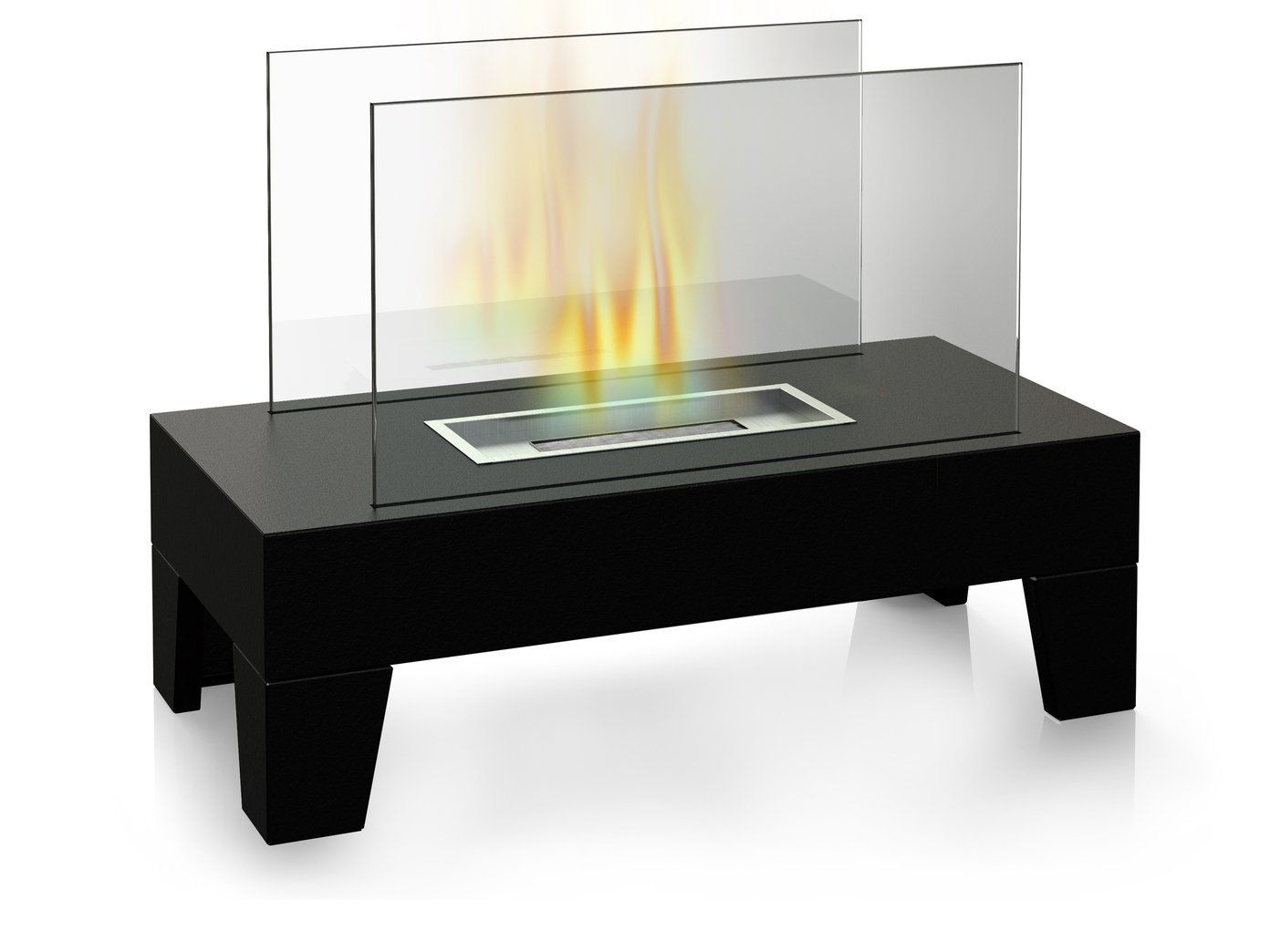 Table Top Bioethanol Heater Model Df 6510 A Compact Table Top Burner That Will Give A Special Touch To A Barbecue In Your Ga Fireplace Modern Fireplace Table