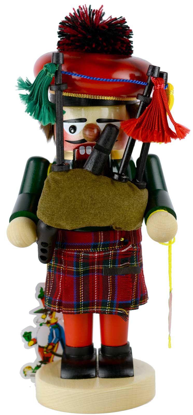 Steinbach Scottish Bagpiper Nutcracker | Nutcrackers ...