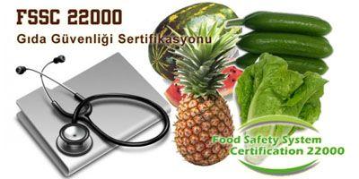 FSSC 22000 Gıda Güvenliği Kalite Belgesi