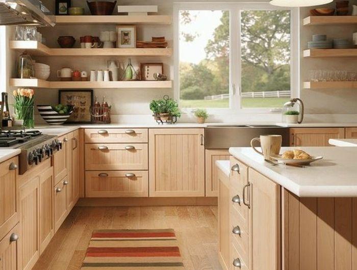 1-magnifique-cuisine-meubles-en-bois-clair-parquet-chene-massif