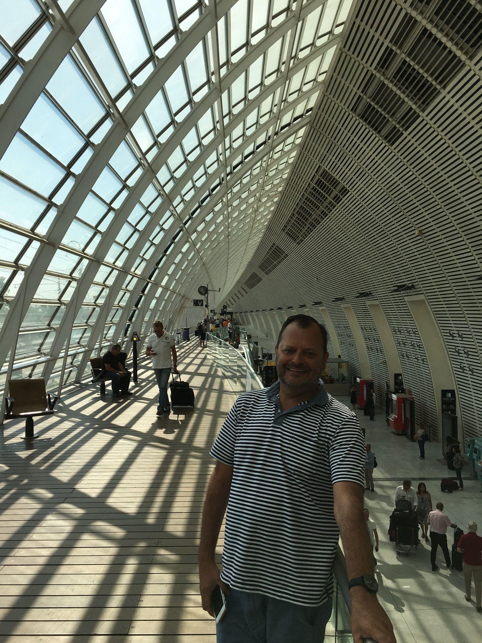 Avignon Train station | Train station, Landmarks, Travel