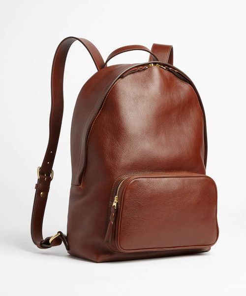 057badc72f6e Lotuff Backpack In Chestnut Leather Backpack For Men