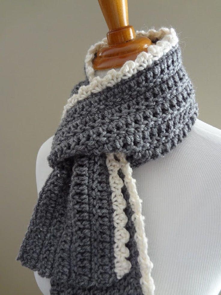 Top 10 DIY Warm and Cozy Crochet Scarfs   DIY Ideas ...