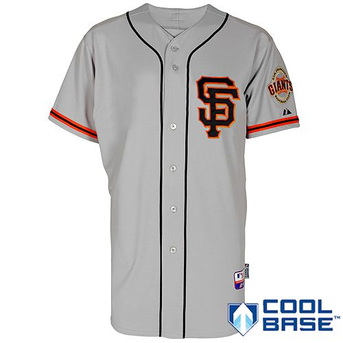 promo code a9cb7 e48ce san francisco giants away jersey