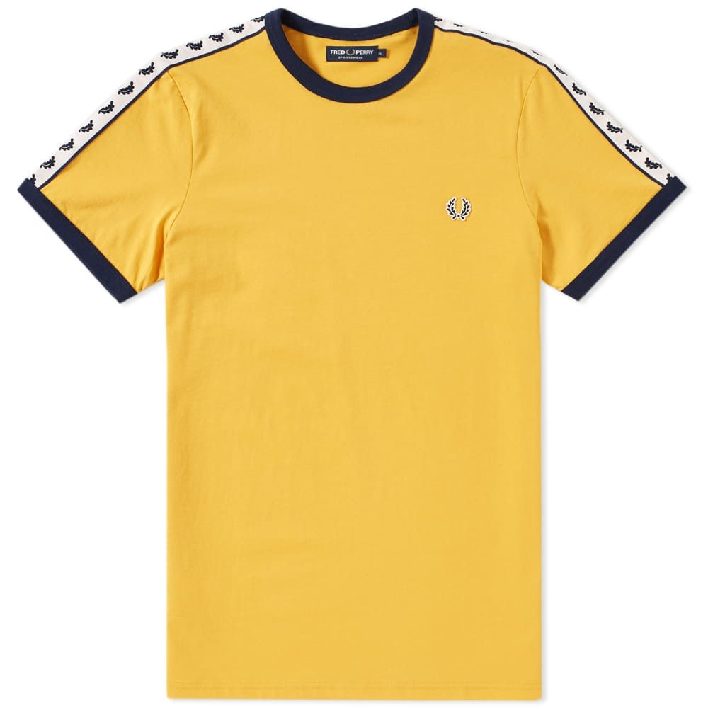 4c470758f Fred Perry Taped Ringer Tee