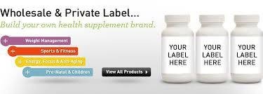 Wholesale Supplements and Own Brand, White Label Supplements Online