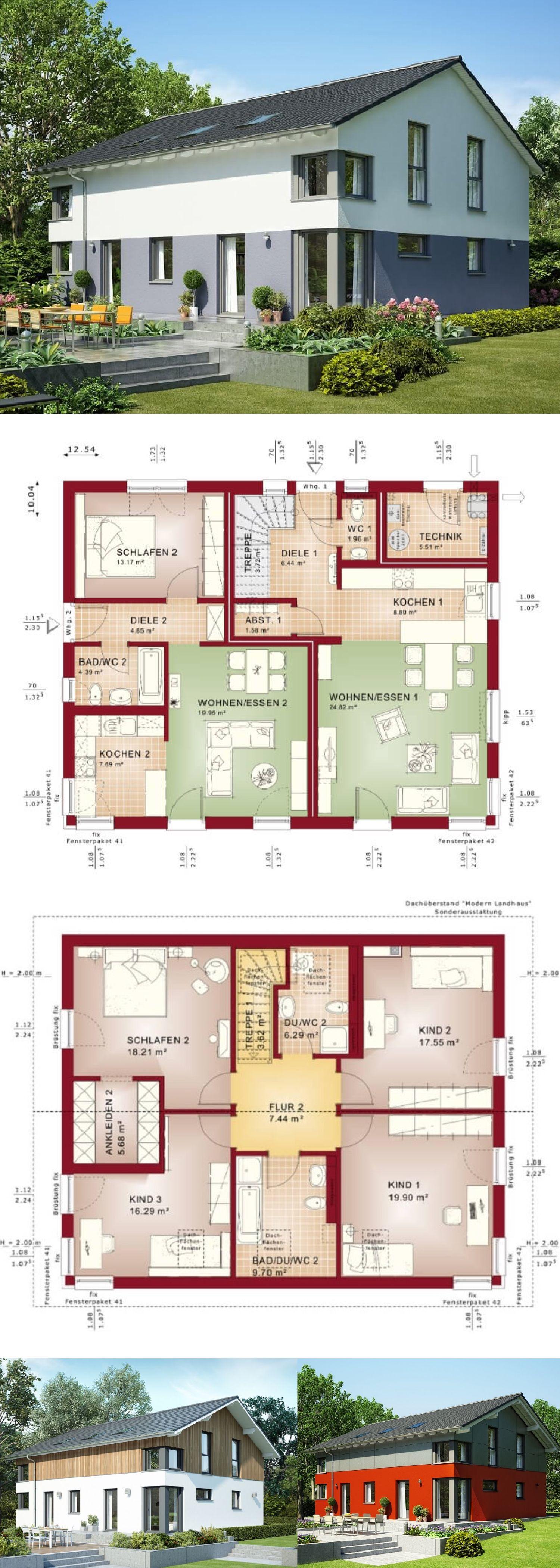 Schickes Einfamilienhaus mit Einliegerwohnung - Haus Evolution 207 ...