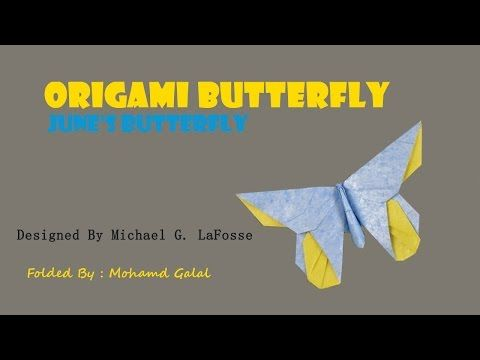 Photo of Origami Butterfly – June's by Michael G LaFosse