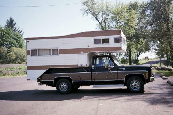 TRUCK & CAMPER REDUCED   Slide in camper, Classic campers ...