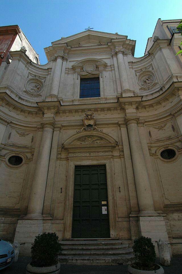 Paolo Posi. Chiesa di Santa Caterina da Siena. Roma (1766-1776)