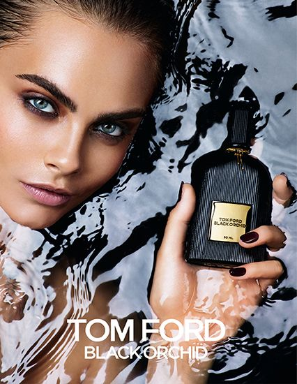For Delevingne Parfum Tom Black Cara Publicité Ford OrchidPub rdBoCxe