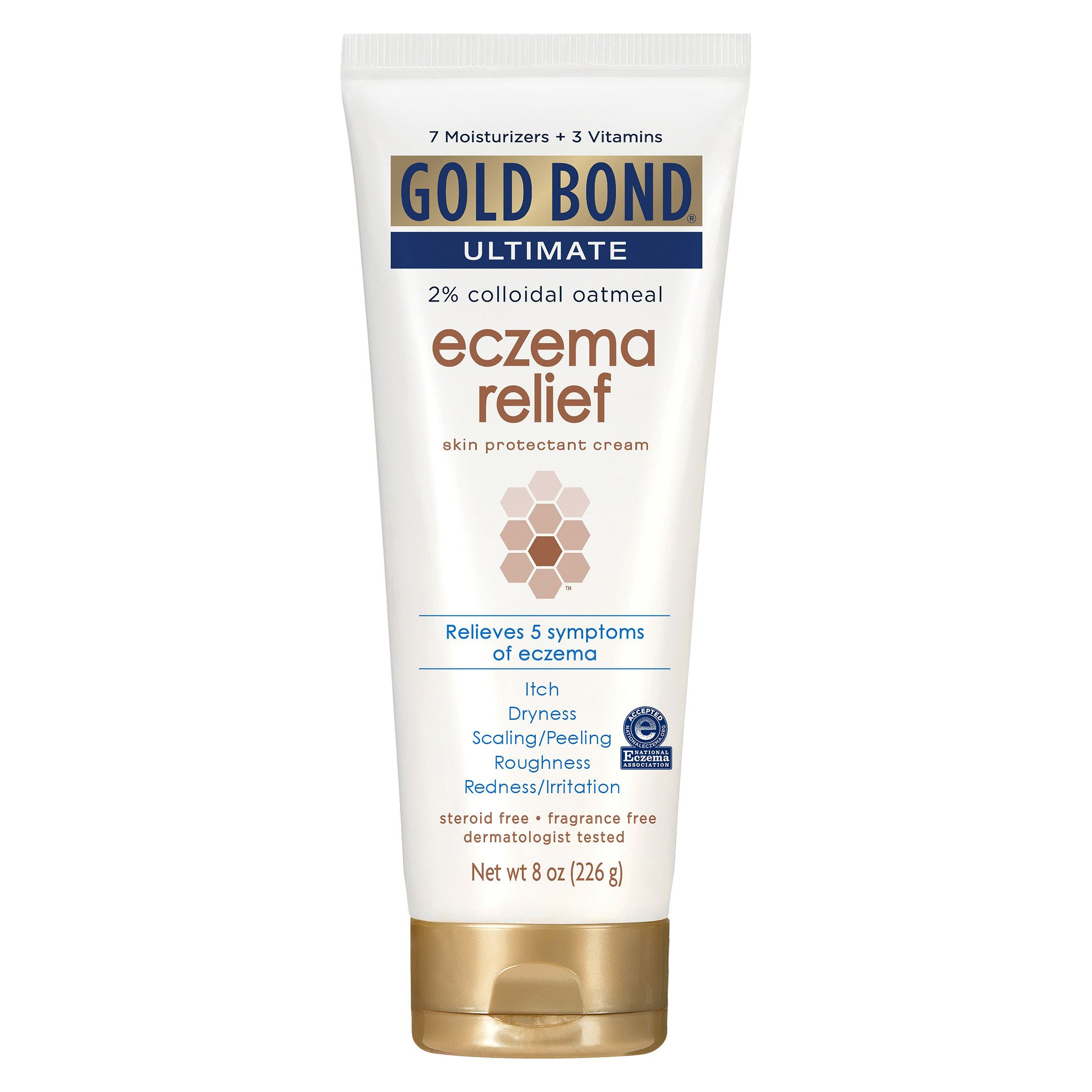 Unscented Gold Bond Eczema Hand And Body Lotions 8oz Eczema