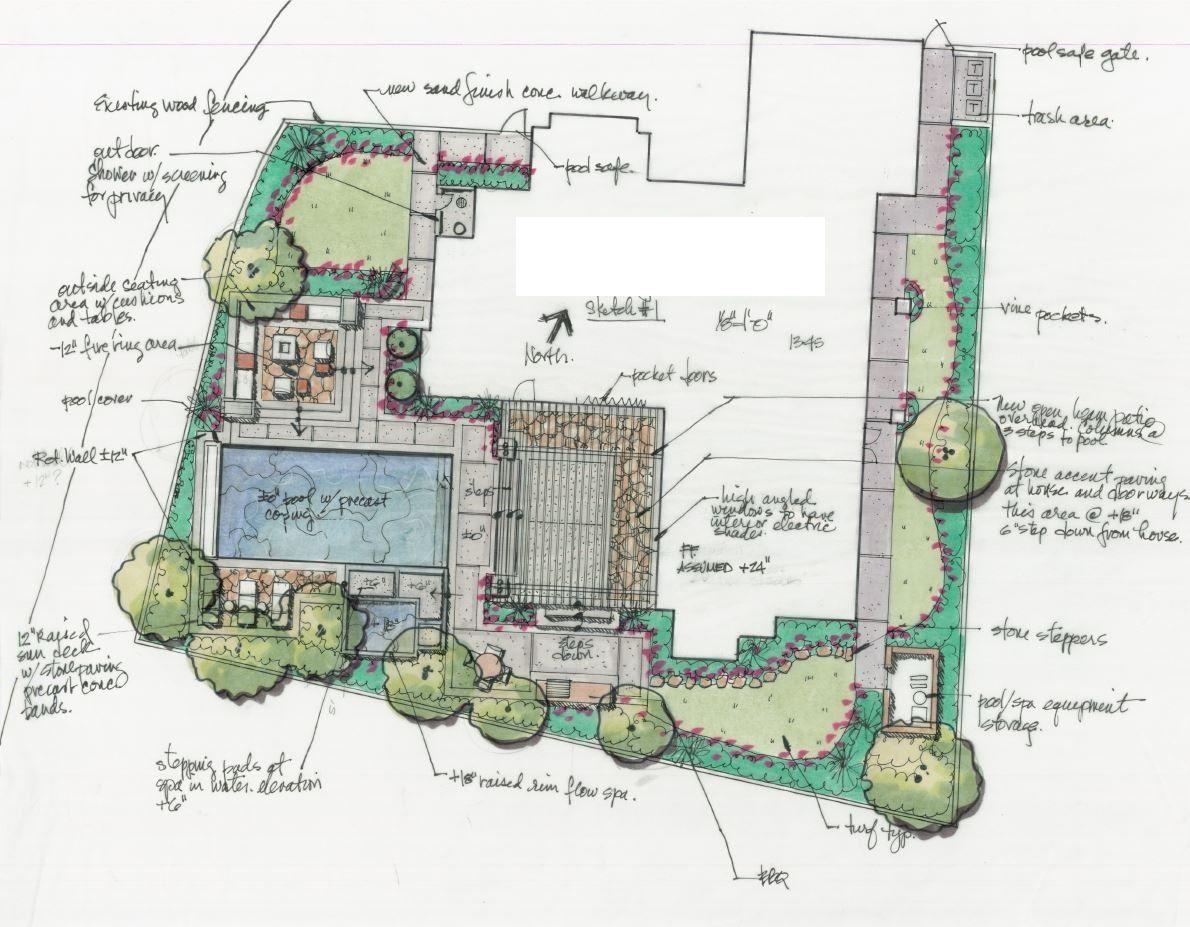 Colorful Landscape Design Plan by SRLA Studio | Landscape design ...