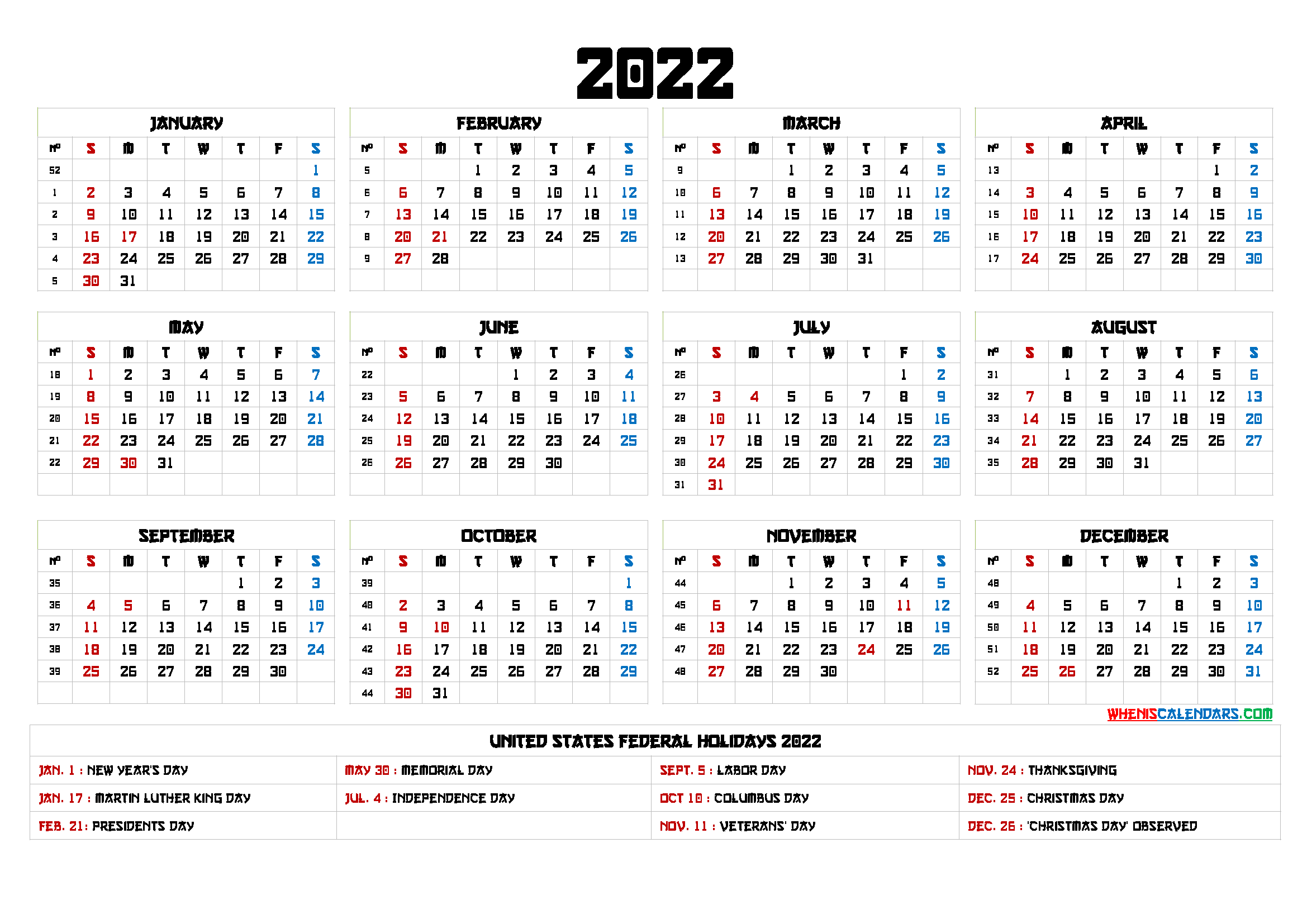 Free Printable 2022 Calendar Templates 6 Templates In 2020 Free Calendar Template Templates Printable Free Yearly Calendar Template