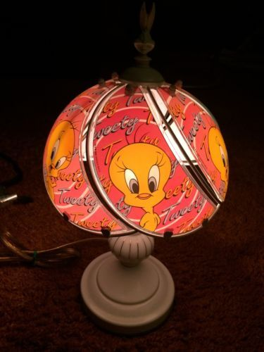 Tweety bird collectible dale tiffany inc touch lamp glass shade tweety bird collectible dale tiffany inc touch lamp aloadofball Image collections