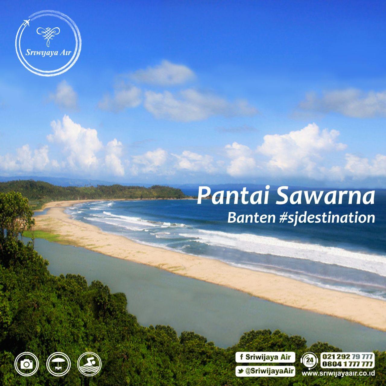Pantai Sawarna di Banten ini dapat dijadikan sebagai referensi