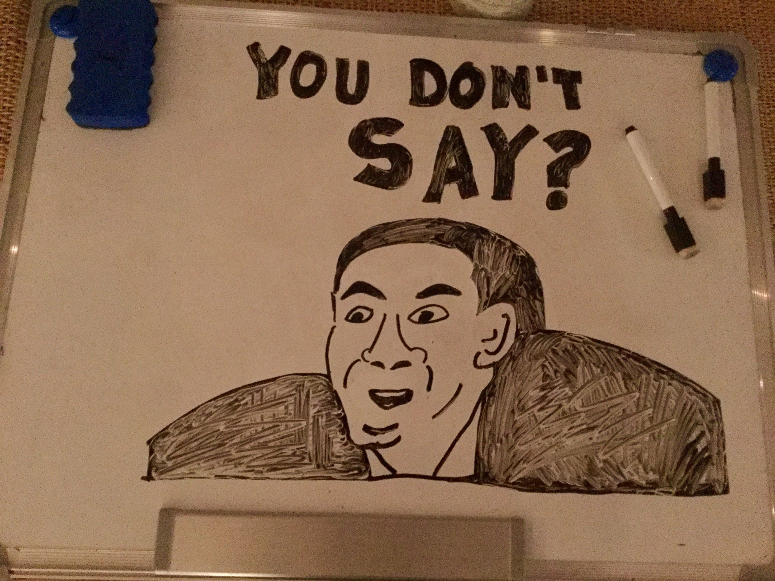 Nicolas Cage You Don T Say Meme You Dont Say Meme Drawings Nicolas Cage