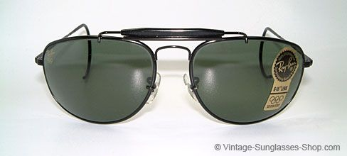 Gold Silver Black Metal Frame Clear Lens Aviator Pilot Cop Style Glasses Shades