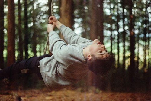 Resultado De Imagem Para Boy In Forest Tumblr