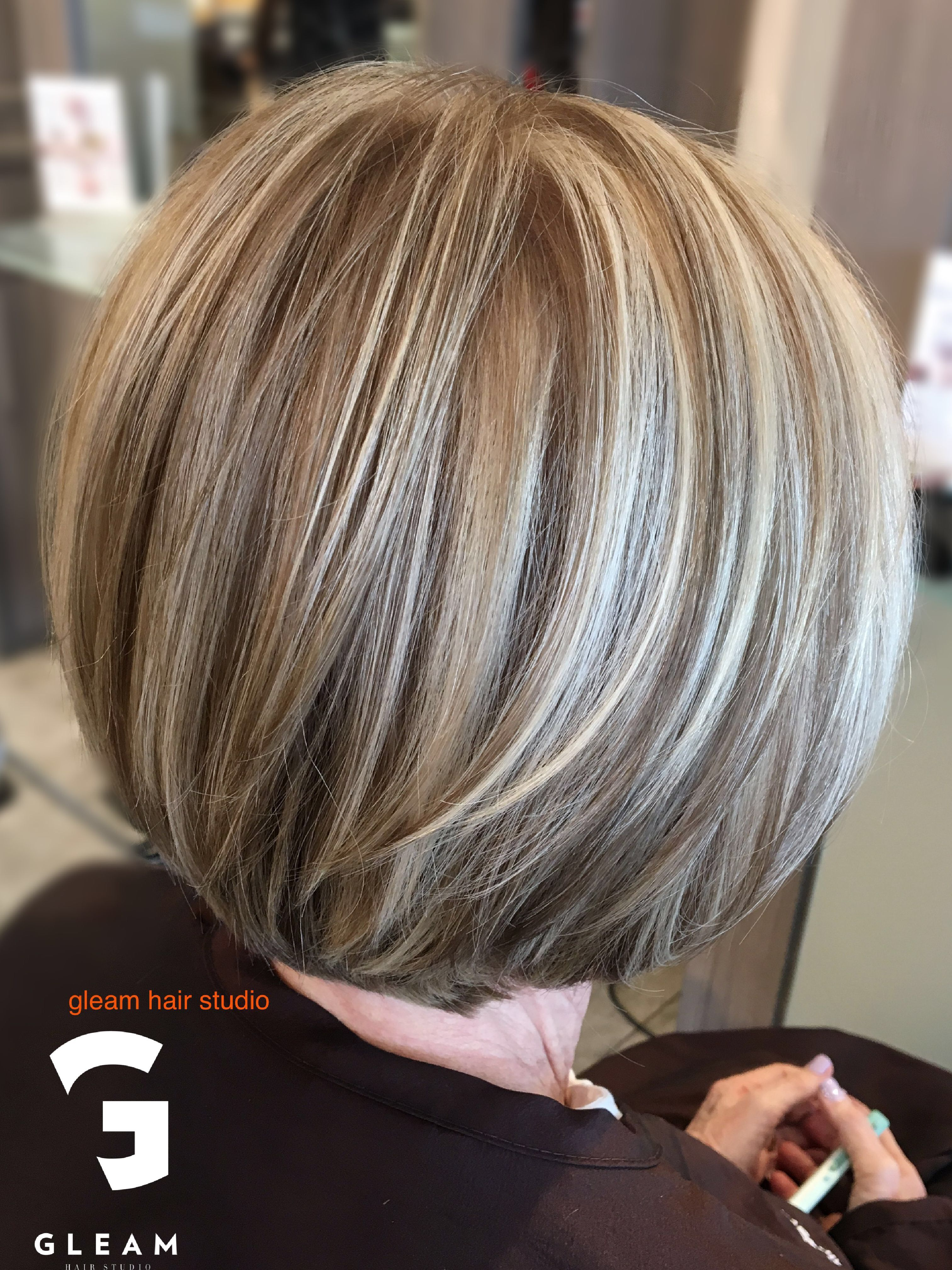 50+ Natural grey hair with lowlights trends