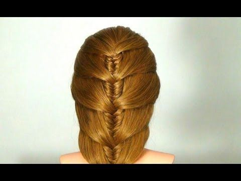 Youtube Hairstyles Gorgeous Легкая Прическа На Каждый Деньeasy Hairstyle For Every Day
