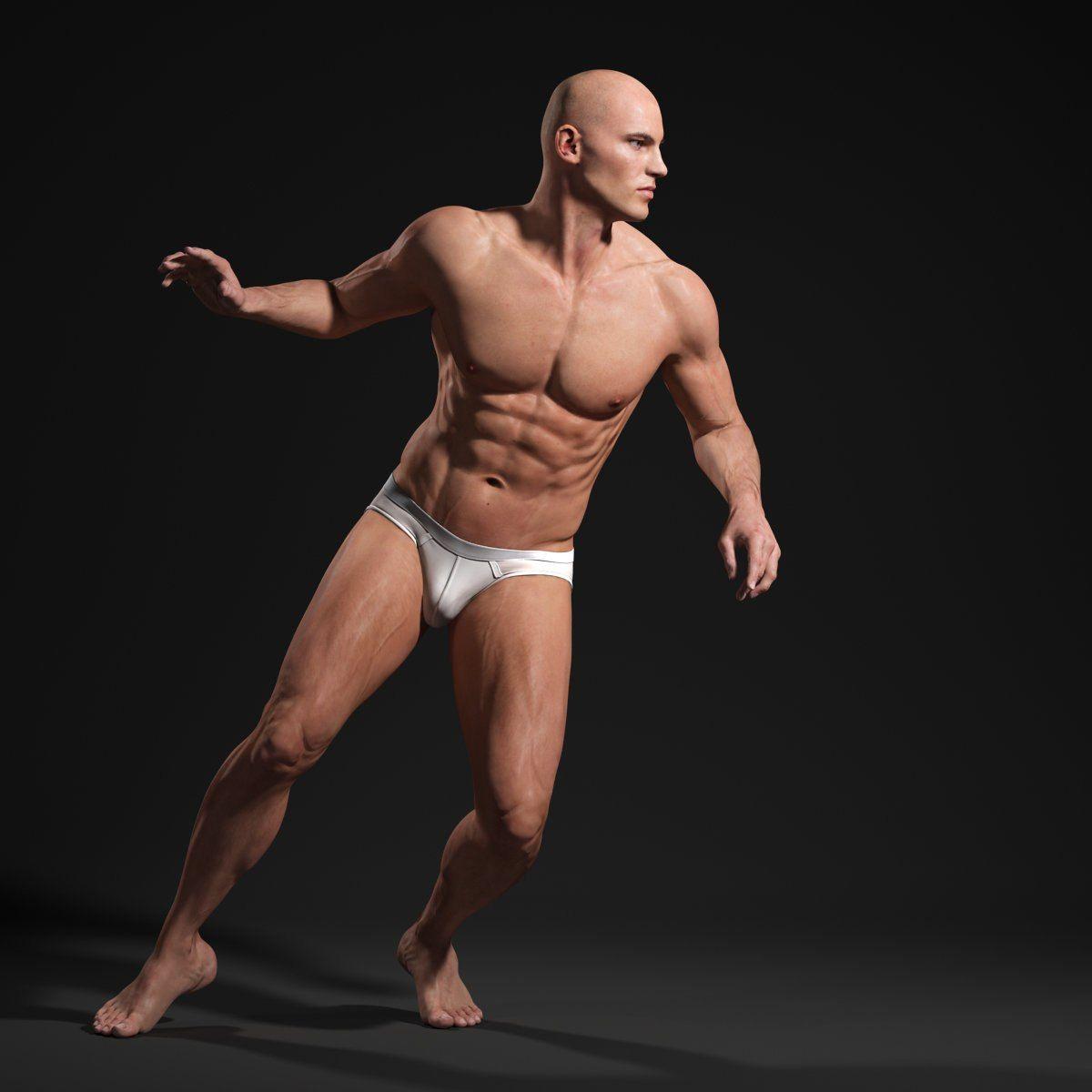 Модель человека фото