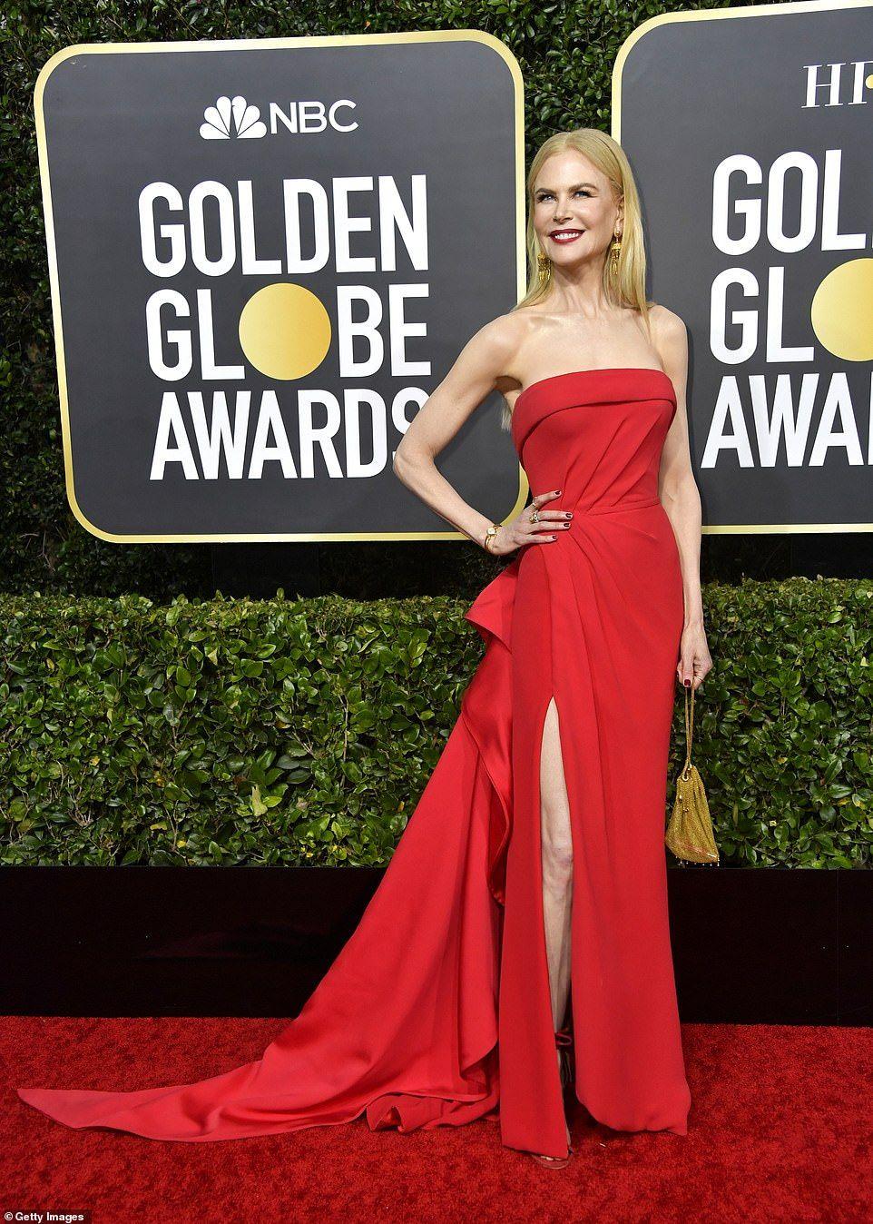 Golden Globes 2020 Red Carpet Best Dressed Stars Arrive Nice