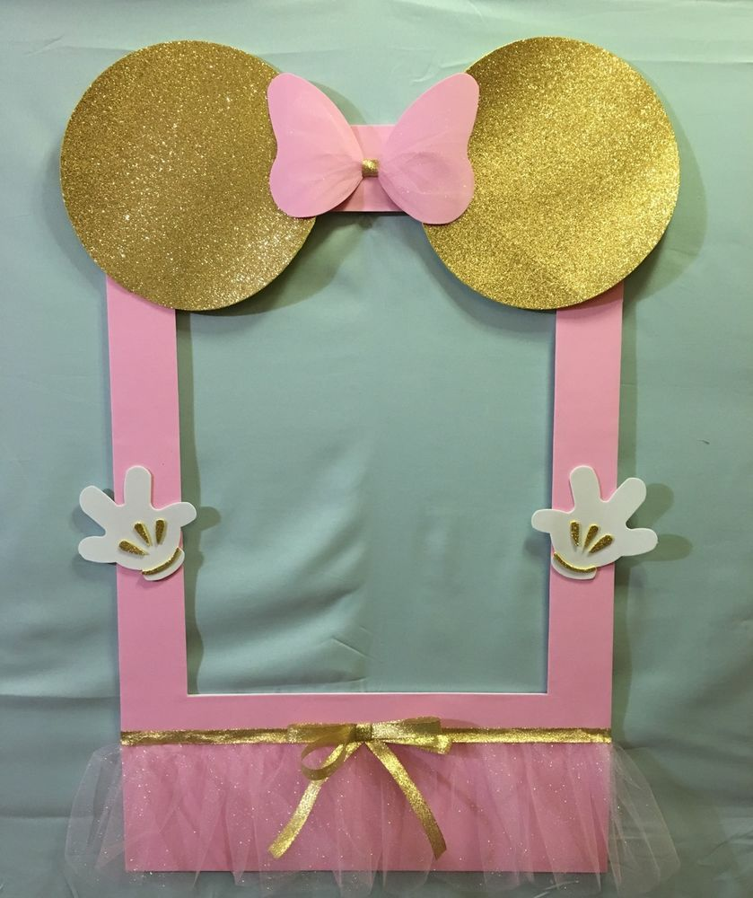 Details About Photo Booth Frame To Take Pictures Minnie