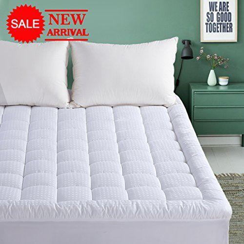 King Mattress Pad 300tc Down Alternative Pillow Top