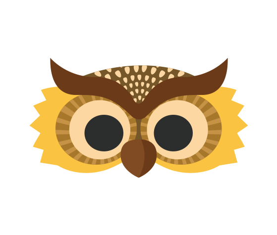 graphic about Printable Owl Mask referred to as Down load this Evening Owl Printable Mask and other no cost