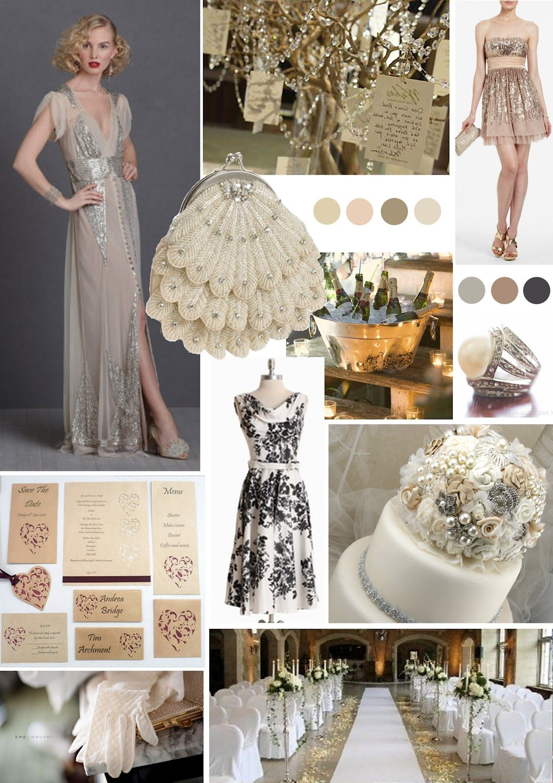 Old Hollywood Glamour Wedding | Papaver Designs: Papaver Loves...Old ...