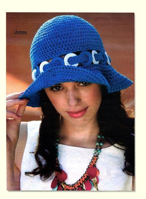 Cute crochet floppy hat! Uncinetto d'oro: cappello