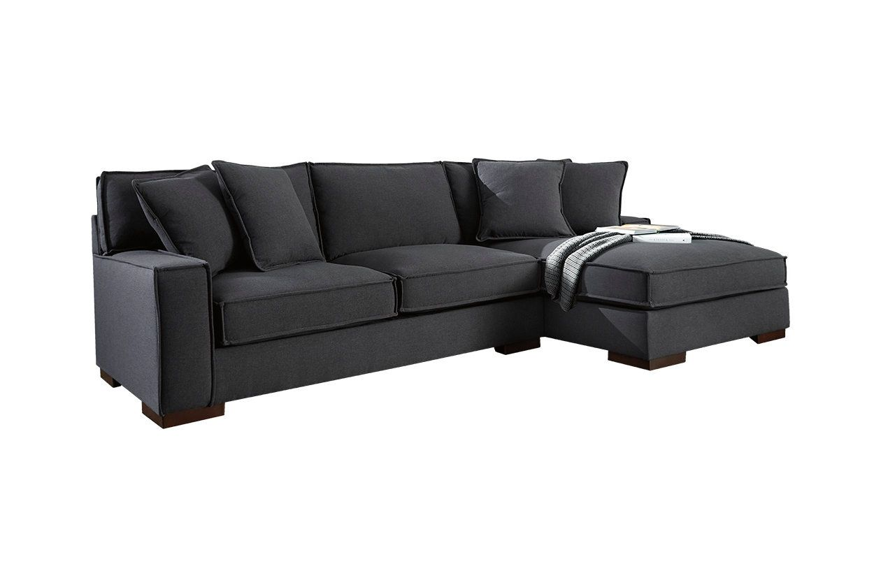Peachy Taylor Leather Sectional And Ottoman Espresso Abbyson Ncnpc Chair Design For Home Ncnpcorg