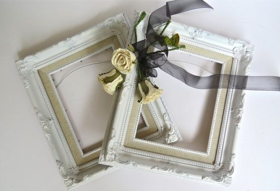 French Country Frames, Vintage Frames, Ivory White Frames, Fancy ...