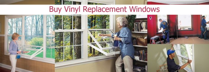 Installing vinyl replacement windows, Buy vinyl replacement windows, Order vinyl replacement