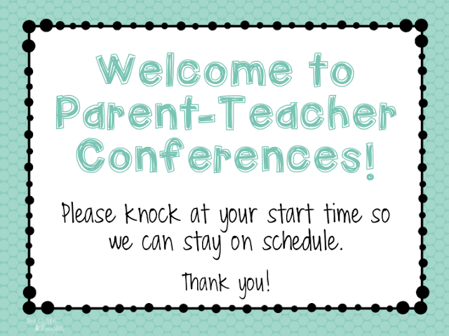 Parent teacher conference timekeeping facilitate it pinterest parent teacher conference timekeeping 3rd grade thoughts altavistaventures Images