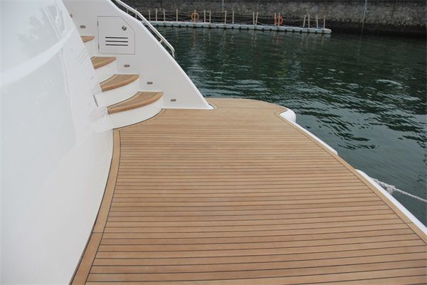 Best Material Boat Waterproof And Anti Skids Flooring Easy Installation Faux Teak For Floors