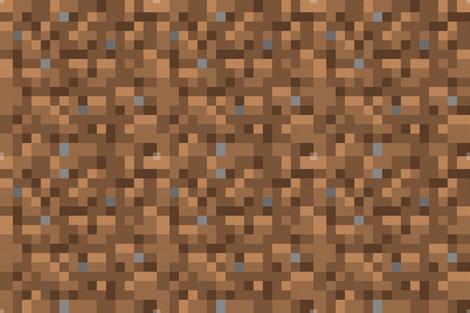 Minecraft Dirt 18 Fabric By Willbradley On Spoonflower Custom Fabric Lunchbox Sides And Bottom Minecraft Quilt Spoonflower Minecraft