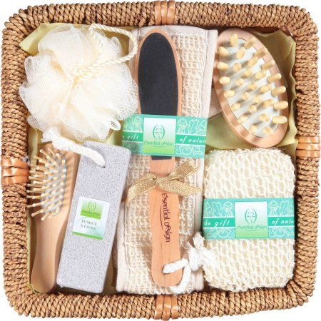 Essential Design Bath Gift Set 8 Pc Products Bath Rattan